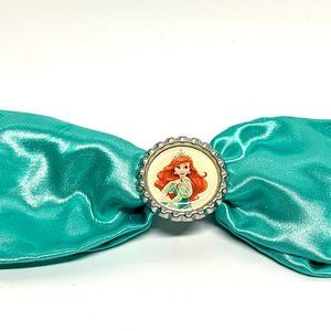 Vintage Disney  Large The Little Mermaid Hairbow